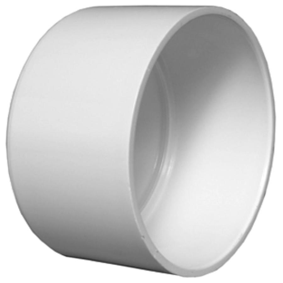 Shop charlotte pipe in dia pvc cap fitting at lowes