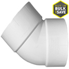 Charlotte Pipe 2-in dia 45-Degree PVC Elbow Fitting