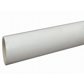 Charlotte Pipe 6-in x 10-ft 190-PSI Schedule 40 PVC Pipe