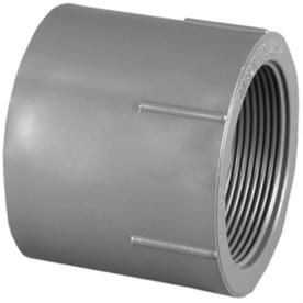Charlotte Pipe 1/2-in dia. PVC Sch 80 Adapter