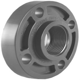 Shop Charlotte Pipe 3 4 In Dia Pvc Sch 80 Floor Flange At