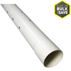 Charlotte Pipe 4-in x 10-ft Perforated PVC Sewer Drain Pipe