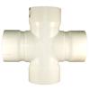Charlotte Pipe 10-in x 8-in dia PVC Cross Tee Fitting