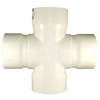 Charlotte Pipe 12-in dia PVC Cross Tee Fitting