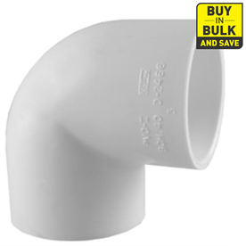 Charlotte Pipe 10-Pack 1/2-in Dia 90-Degree PVC Sch 40 Elbows