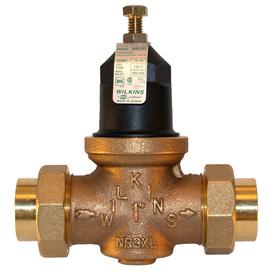 shop wilkins 3 4 in bronze female in line pressure reducing valve at. Black Bedroom Furniture Sets. Home Design Ideas