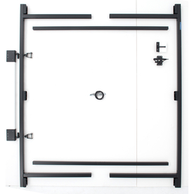 Adjust-A-Gate 60&#034; Gray Powder-Coated Gate Frame Kit