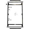 Adjust-A-Gate Adjustable 3-Rail Gate Frame Kit 36-72 W/58 H