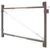 Adjust-A-Gate Adjustable 2-Rail Gate Frame Kit