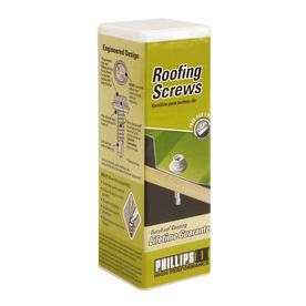 PHILLIPS 50-Count 12-in x 2-in Roofing Drill Screws
