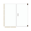 American Bath Factory 70-in H x 41.5-in W Mesa Shower Glass Panel