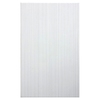 Style Selections Blairlock White Ceramic Wall Tile (Common: 10-in x 16-in; Actual: 15.66-in x 9.76-in)