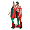 One Size Fits Most Green Polyester Elf Suit