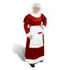 S/M Red Polyester Mrs. Claus Suit