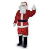 XXL Red Velvet Santa Claus Suit