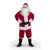 XXL Red Polyester Santa Claus Suit