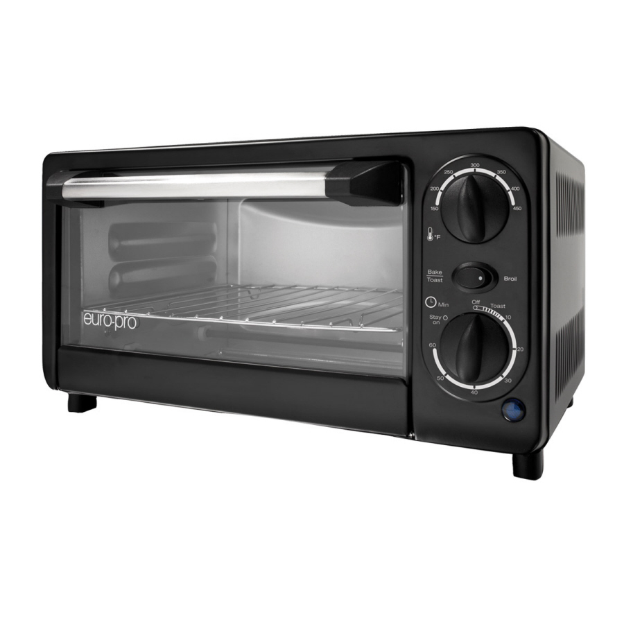 Shop Euro-Pro 4-Slice Toaster Oven at Lowes.com