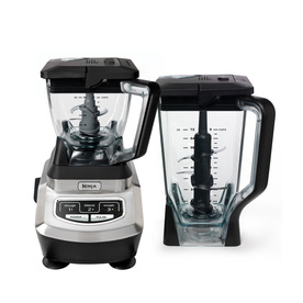 Ninja 1,100-Watt Stainless Steel 3-Blade Food Processor BL700