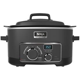 Ninja 6-Quart Black Oval Slow Cooker