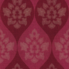 allen + roth&nbsp;Red Strippable Non-Woven Paper Prepasted Wallpaper