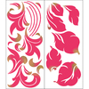 allen + roth 24-Pack Floral Wall Stickers