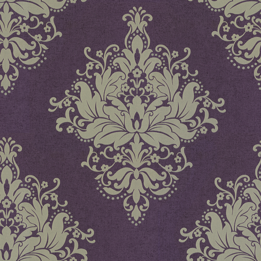 Shop allen roth purple strippable non woven prepasted for Prepasted wallpaper