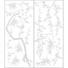allen + roth Blumin' Bamboo Snap Wall Art