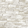 allen + roth White Stone Flat Pack Wallpaper