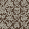 allen + roth Brown Gold Damask Flat Pack Wallpaper