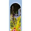 allen + roth Najads Garden Mural