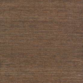 Home Allen Roth Brown Grasscloth Unpasted Textured Wallpaper
