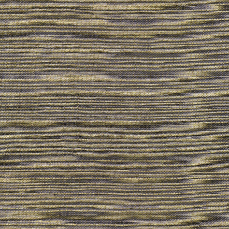 shop allen roth gray grasscloth unpasted textured