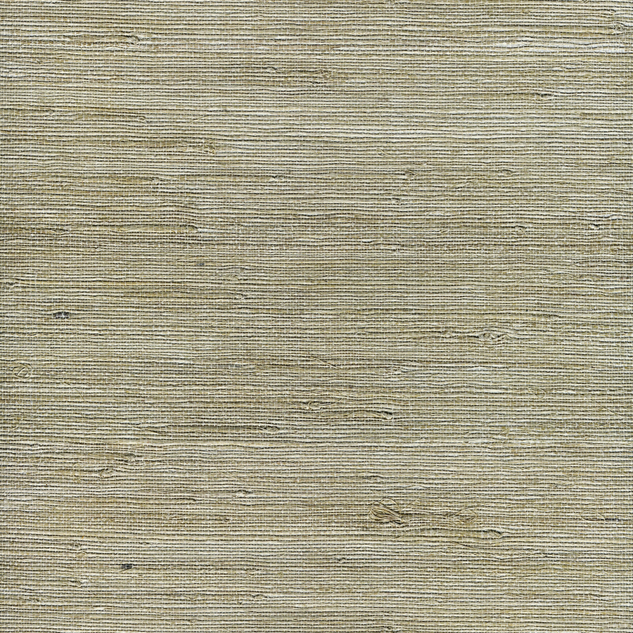 Shop allen roth white grasscloth unpasted textured for Self stick grasscloth wallpaper