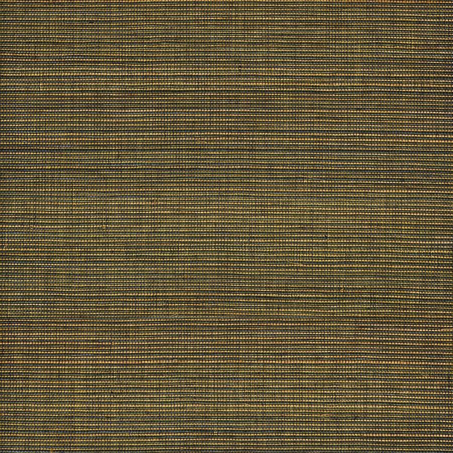 Shop Allen + Roth Black Grasscloth Unpasted Textured