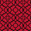 allen + roth Red/Black Strippable Non-Woven Paper Prepasted Classic Wallpaper