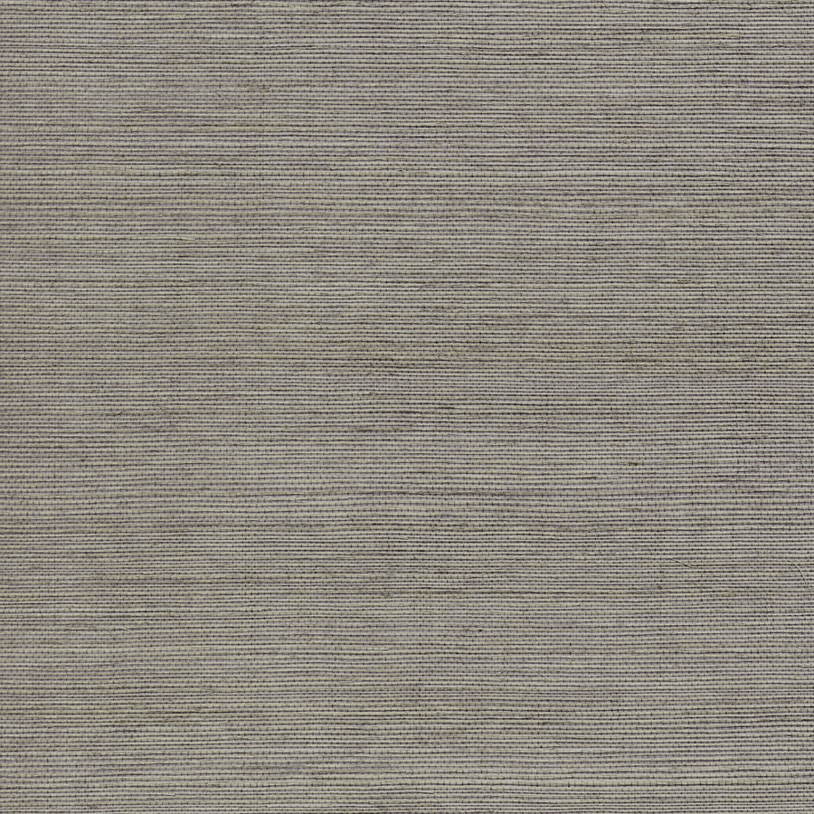 Silver Grasscloth Wallpaper: Shop Allen + Roth Grey Grasscloth Unpasted Textured