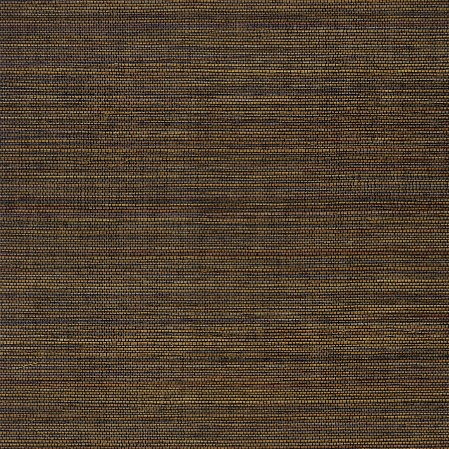 shop allen roth black gold grasscloth unpasted textured