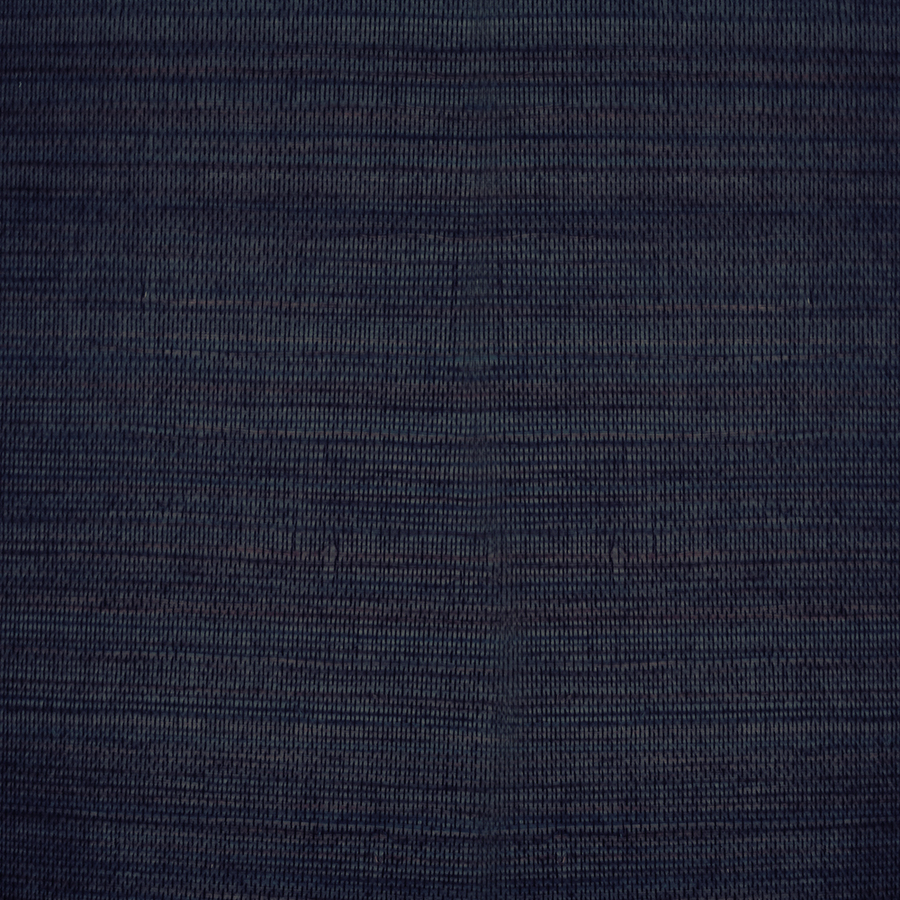 Shop allen roth navy blue grasscloth unpasted textured for Navy blue wallpaper for walls