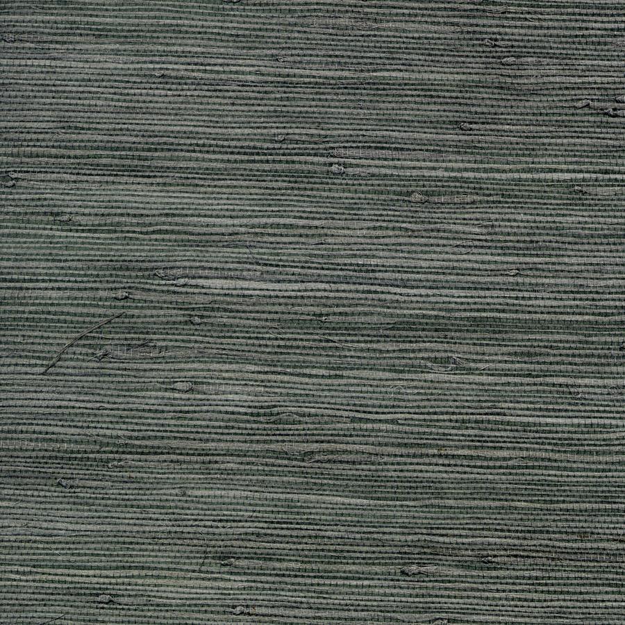 Shop allen roth dark grey grasscloth unpasted textured for Gray textured wallpaper