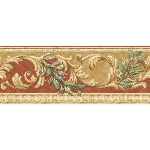 scroll wallpaper. Sunworthy Floral Scroll Wallpaper$40$40