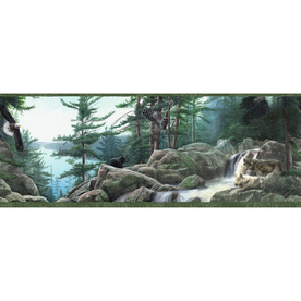 Nature Wallpaper Border Prepasted Wallpaper Border