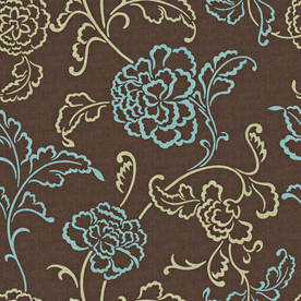 allen + roth Brown Strippable Non-Woven Paper Prepasted Classic Wallpaper
