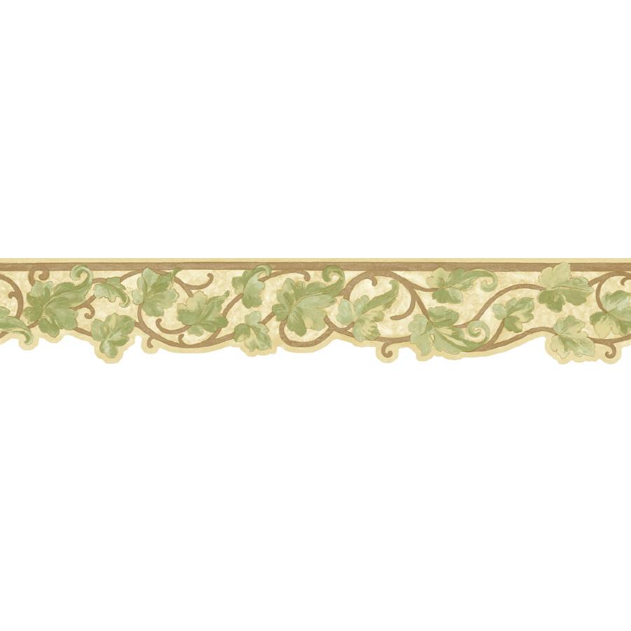 shop sunworthy 5 antique ivy scroll prepasted wallpaper