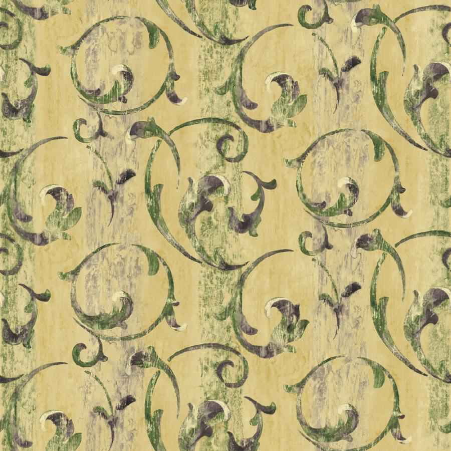 Shop sunworthy green peelable vinyl prepasted classic for Prepasted wallpaper