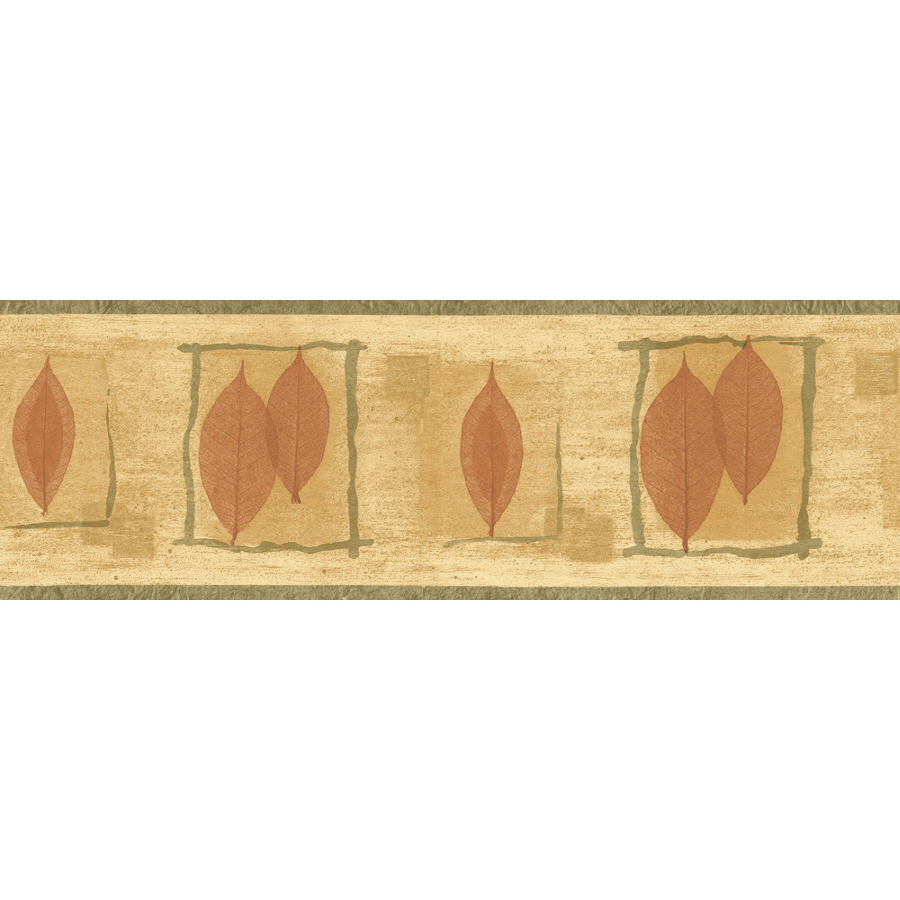 ... out zoom in sanitas 6 7 8 transitional leaf prepasted wallpaper border