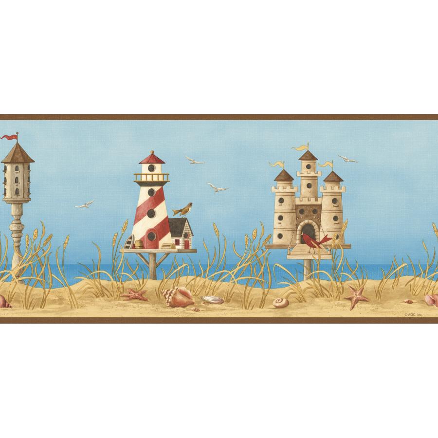 imperial lighthouse wallpaper border