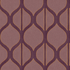 Shand Kydd Purple Strippable Non-Woven Paper Prepasted Wallpaper