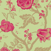 Shand Kydd Green Strippable Paper Prepasted Wallpaper