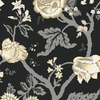 Shand Kydd Black Strippable Paper Prepasted Wallpaper