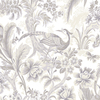 Shand Kydd White Strippable Paper Prepasted Wallpaper